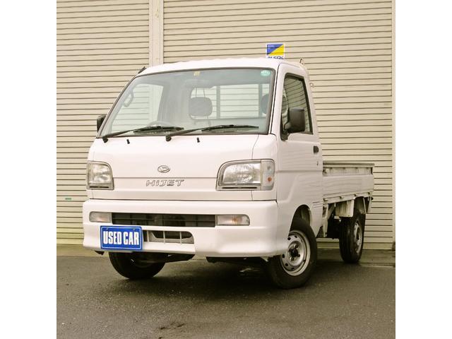 ダイハツ スペシャル 4WD MT 白 ラジオ付き