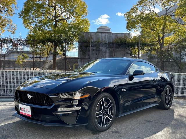 フォード マスタング GTプレミアム ブラックレザーシート シートヒーター&ベンチレーション APPLEカープレイ&アンドロイドオート ポニープロジェクションライト 純正18インチAW