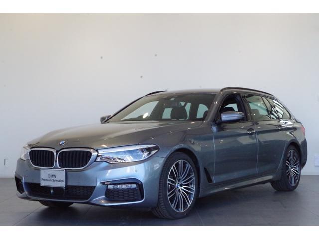 BMW 5シリーズ 523iツーリング Mスポーツ 追従クルコン 全方位カメラ フルセグTV ルーフレール 純正HDDナビ 純正19インチAW ETC 電動テールゲート アダプティブLEDヘッドライト ヘッドアップディスプレイ 電動フロントシート
