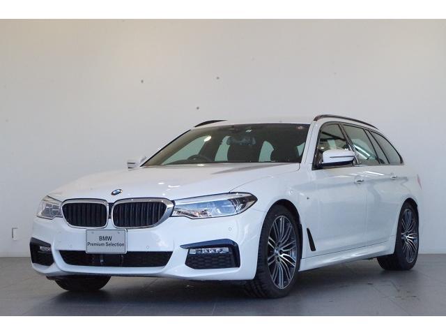 BMW 5シリーズ 523dツーリング Mスポーツ 認定中古車 アクティブクルーズコントロール 全周囲カメラ 電動フロントシート
