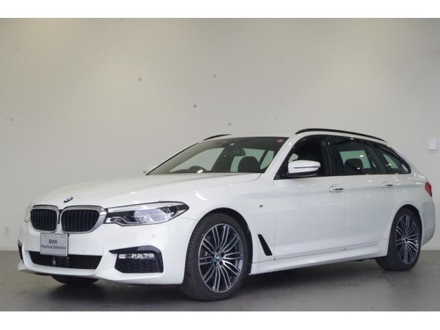 BMW 5シリーズ 523iツーリング Mスポーツ イノベーションP ACC パーキングアシストP ヘッドアップディスプレイ アルカンターラシート 19インチAW ドライビングアシストプラス TVチューナー
