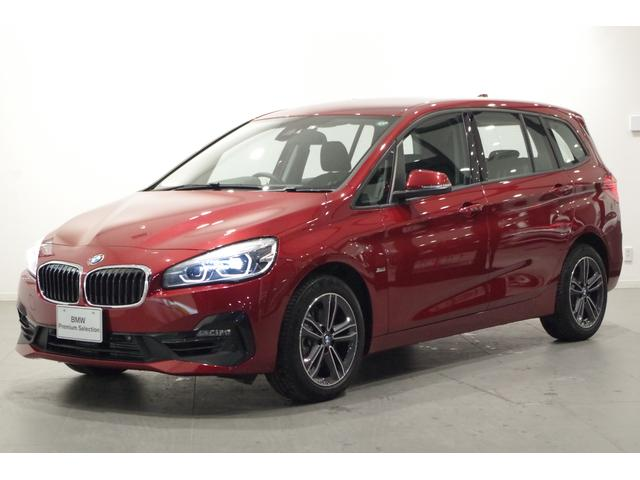 BMW 218iグランツアラー スポーツ コンフォートP パーキングアシストP ETC オートマチックテールゲート シートヒーター 純正HDDナビ バックカメラ コーナーセンサー