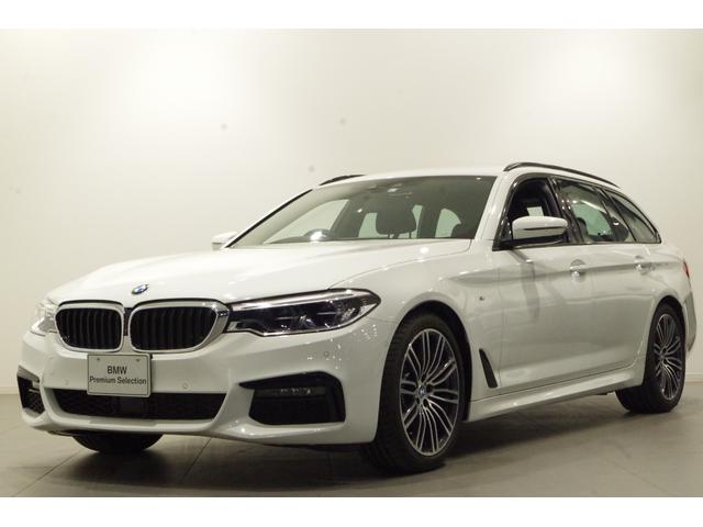 BMW 5シリーズ 523dツーリング Mスポーツ ヘッドアップディスプレイ ACC 全方位カメラ  フルセグTV  19インチアロイホイール