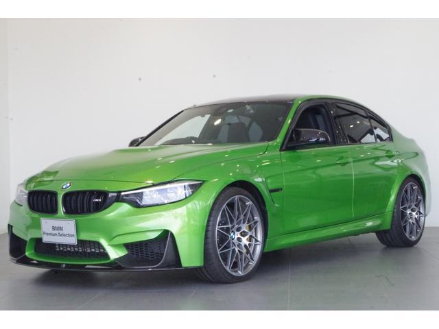 BMW M3セダン コンペティション 日本限定3台 Mperformanceパーツ装備車 弊社下取車両 M コンペティションPKG ブラックメリノレザーシート ドライブレコーダー