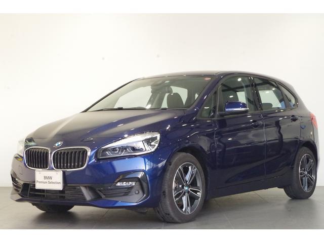 BMW 2シリーズ 218dアクティブツアラー スポーツ コンフォートPKG パーキングサポートPKG バックカメラ 純正HDDナビ シートヒーター 17インチAW ETC ハーフレザーシート