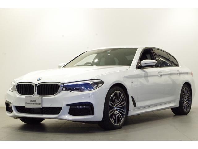 BMW 5シリーズ Mスポーツ ハイラインPKG ACC TV 19インチAW ドライビングアシストプラス パーキングアシストプラス 全方位カメラ 本革シート カーフィルム ETC