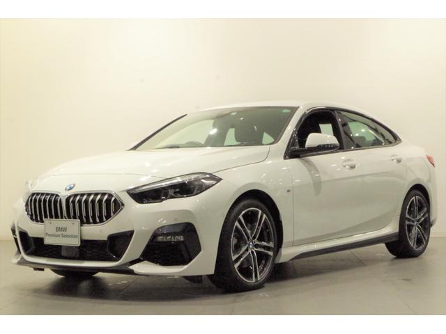 BMW 218iグランクーペ Mスポーツ ナビPKG ACC パーキングアシスト ETC 純正18インチAW SOSコール 純正HDDナビ ドライビングアシスト