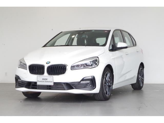 BMW 218dアクティブツアラー スポーツ コンフォートPKG バックカメラ 純正HDDナビ パーキングサポートPKG シートヒーター 専用ハーフレザーシート ETC 17インチAW