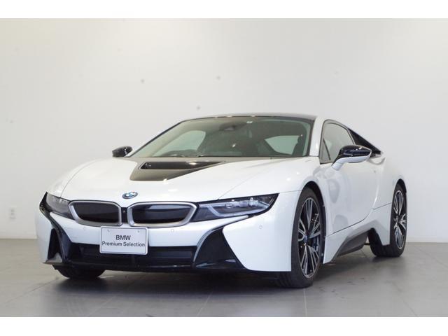 i8(BMW) ベースグレード 黒革席 全方位カメラ クルコン ETC オプション20インチAW HUD 純正HDDナビ シートヒーター harman/kardonスピーカー 中古車画像