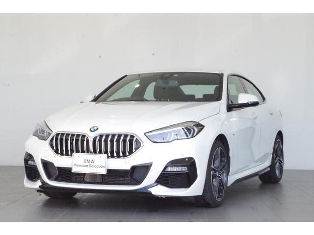 BMW 218iグランクーペ Mスポーツ ナビPKG ACC パーキングアシスト ETC 純正HDDナビ 18インチAW 電動フロントシート SOSコール ハーフレザーシート バックカメラ