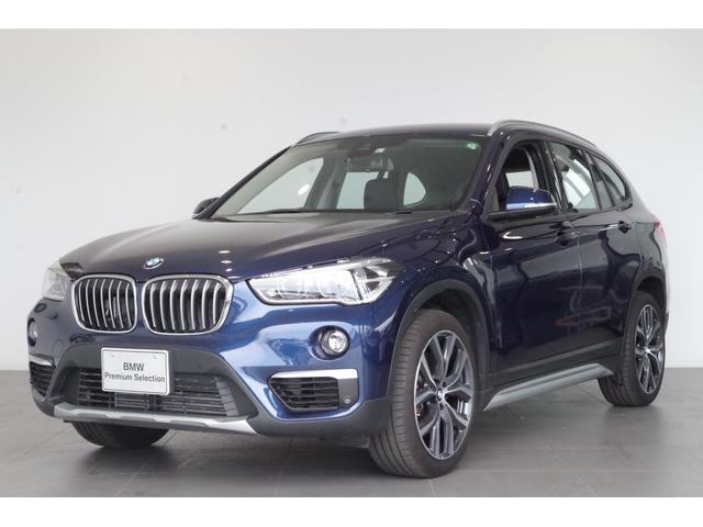 BMW X1 xDrive 20i xライン 追従クルコン 純正HDDナビ バックカメラ ヘッドアップディスプレイ 純正18インチAW ヒートヒーター ハーフレザーシート ETC