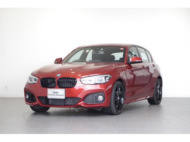 BMW 1シリーズ 118i Mスポーツ エディションシャドー 特別仕様 黒本革 追従クルコンバックカメラ ETC 電動フロントシート シートヒーター HiFiスピーカー 前後コーナーセンサー