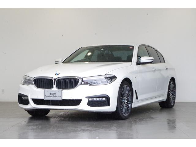 BMW 5シリーズ 530i Mスポーツ 黒本革 追従クルコン フルセグTV ETC 全方位カメラ・バックカメラ ワイヤレス充電 ヘッドアップディスプレイ 純正HDDナビ