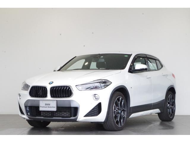 BMW X2 sDrive 18i MスポーツX 純正HDDナビ リアビューカメラ ヘッドアップディスプレイ 前車追従型クルーズコントロール 電動リアゲート コンフォートアクセス LEDヘッドライト 前後PDC オートライト オートワイパー