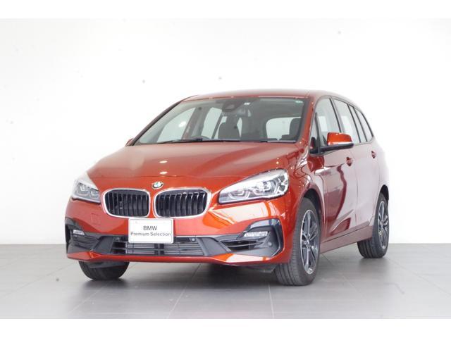 2シリーズ(BMW) 218iグランツアラー スポーツ 認定中古車 バックカメラ 純正HDDナビ シートヒーター 衝突被害軽減機能 中古車画像