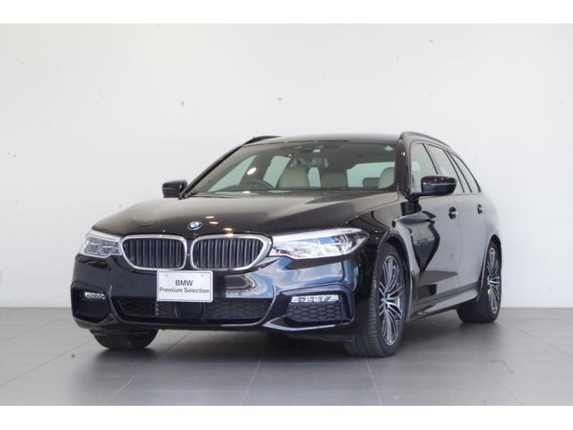 BMW 5シリーズ 523iツーリング Mスポーツ 前車追従クルーズコントロール 純正HDDナビ アンビエントライト ETC フルセグTV 白本革