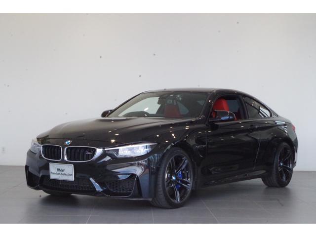 BMW M4 M4クーペ 弊社下取車両 純正HDDナビ ETC サンルーフ 本赤革シート フルセグテレビ Mスポーツキャリパー harman/kardonスピーカー