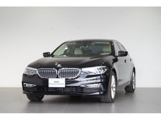 BMW 523d ラグジュアリー 認定中古車 デビューパッケージ ソフトクローズドア ヘッドアップディスプレイ 純正HDDナビ 白本革 純正18インチAW ACC 全方位カメラ カーフィルム ドライブレコーダー