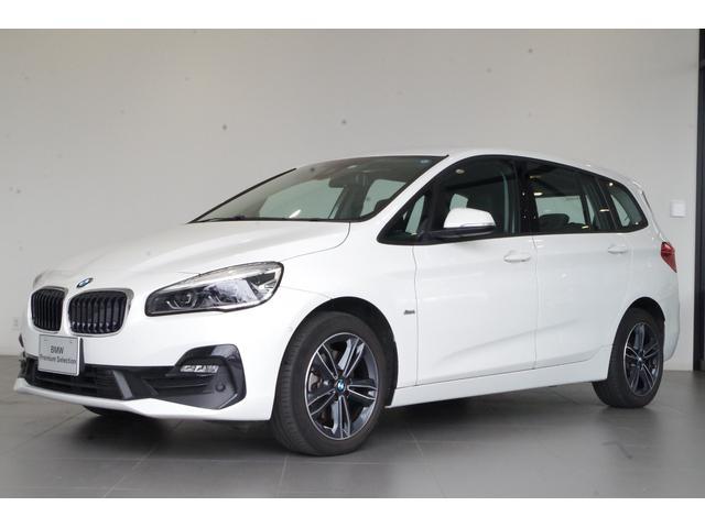 BMW 2シリーズ 218dグランツアラー スポーツ 純正8.8インチHDDナビ リアビューカメラ 前後PDC ETC2.0 電動リアゲート 前車追従型クルーズコントロール ヘッドアップディスプレイ