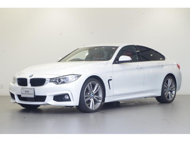 BMW 420iグランクーペ Mスポーツ ワンオーナー フルセグTV 純正17インチAW 純正HDDナビ シートヒーター 電動テールゲート バックカメラ 前後コーナーセンサー 追従クルコン