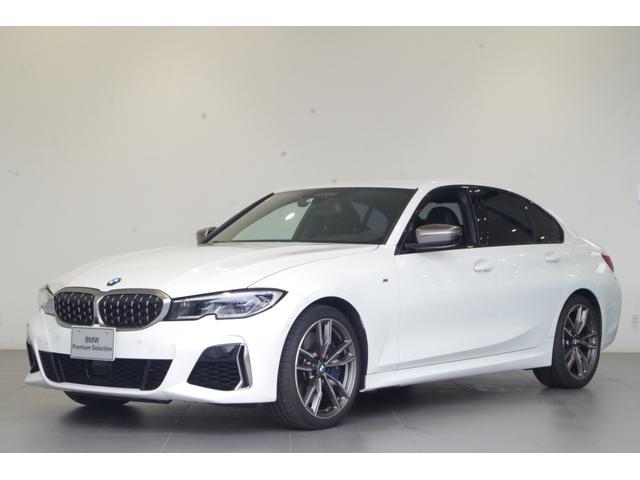 BMW M340i xDrive 左ハンドル仕様 ワンオーナー ACC パーキングアシストプラス 純正19インチAW 黒本革 ヘッドアップディスプレイ レーザーライト