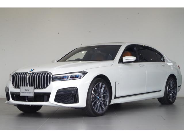 BMW 750Li xDrive Mスポーツ リアコンフォートパケージプラス SR 茶本革 アラームシステム harman/kardonスピーカー リアエンターテイメント 純正20AW ACC フルセグTV ETC