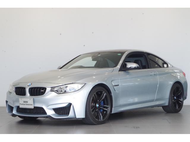 BMW M4クーペ M4クーペ(4名)黒本革 ワンオーナー クルコン 純正19AW 純正HDDナビ カーボンファイバー・インテリアトリム カーボンルーフ Mスポーツブレーキ フルセグTV
