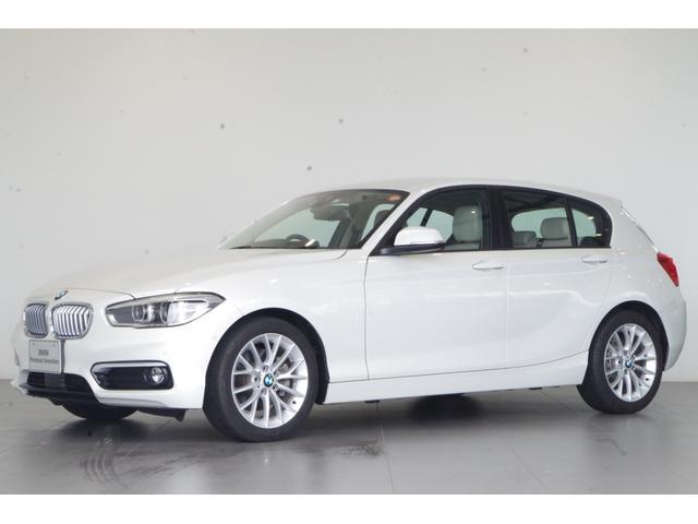 BMW 1シリーズ 118d ファッショニスタ 特別仕様車 白本革 ETC 追従クルコン 専用17インチAW 純正HDDナビ ETC バックカメラ