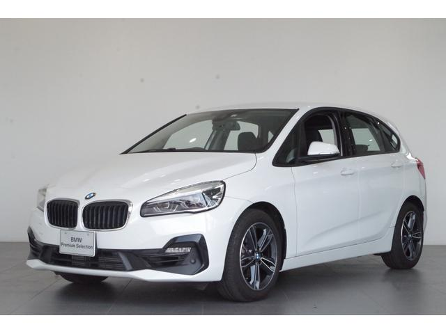 BMW 218iアクティブツアラー スポーツ 純正8.8インチHDDナビシステム リアビューカメラ 前後コーナーセンサー ETC2.0車載器 自動防眩ルームミラー コンフォートアクセス 電動テールゲート LEDヘッドライト 純正17インチホイール