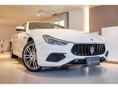 マセラティ ギブリS グランスポーツ 新車保証継承 弊社買取車両