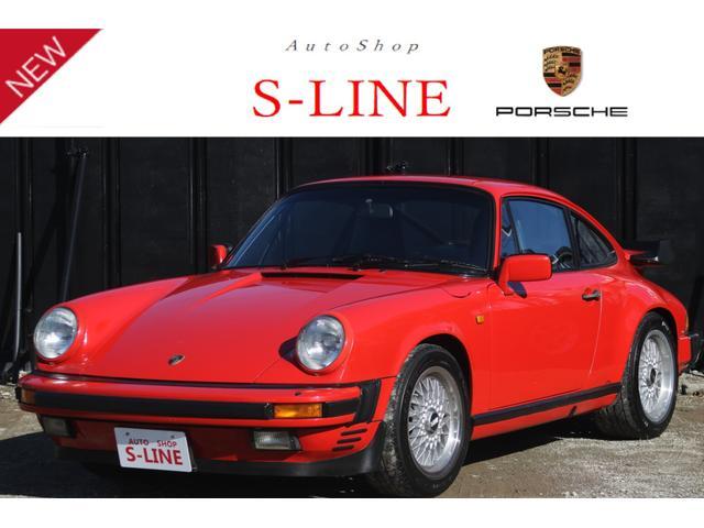 ポルシェ ポルシェ 911カレラ 930 5速MT 純正ターボウィング