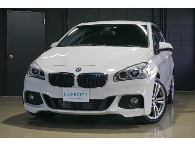 BMW 225i xDriveアクティブツアラー Mスポーツ ハンズフリー電動テールゲート 前席パワーシート運転席メモリー付 パドルシフト 純正ナビ バックカメラ リアパークセンサー ドライビングアシスト ライトパッケージ 純正18インチアルミホイール