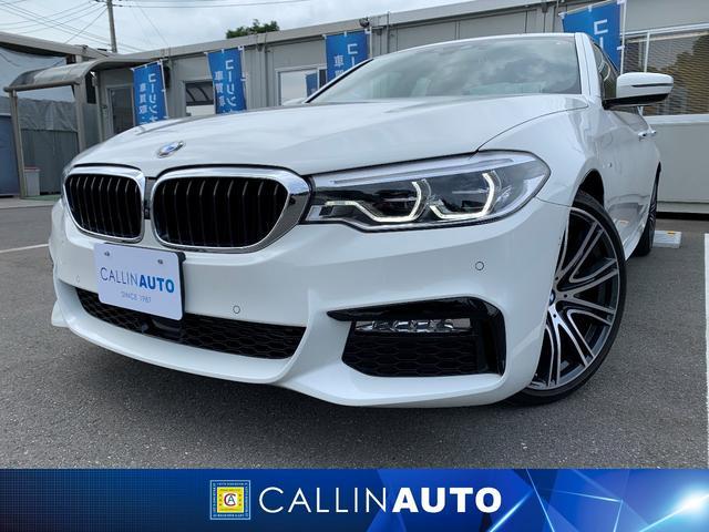 BMW 523d Mスポーツ 純正ナビTV 全方位C 純正20AW