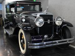 キャデラックリムジン左ハンドルMT 観音4ドア モケットインテリア 左ハンドル 341シリーズロイヤルリムジン 1929年式 エンジン始動OK 車検3年6月