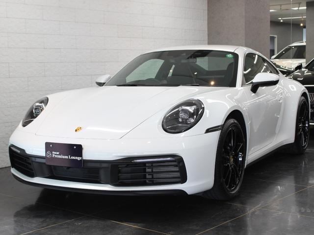 ポルシェ 911カレラ 右H ブラックレザー スポーツクロノPKG 電動格納ミラー クルーズコントロール シートヒーター