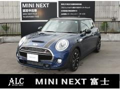 MINIクーパーS  ENERGETIC Style 新車保証継承
