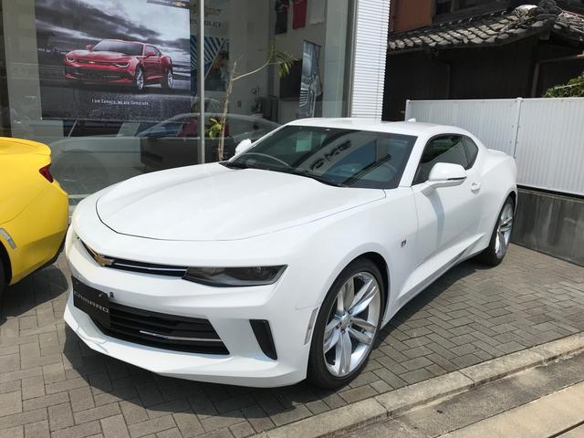シボレー LTRS 新車未登録車 サミットホワイト