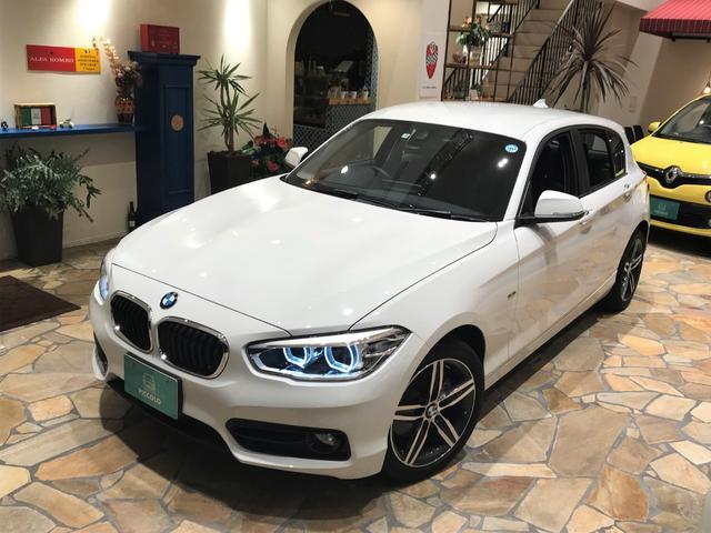 BMW 120i スポーツ 1オナ 禁煙車 純正ナビ Bカメ