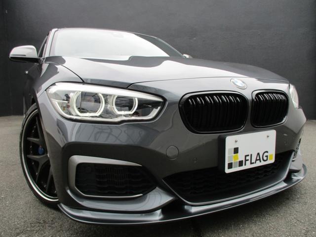 BMW M135i ワンオーナー 禁煙車 3Dデザインエアロ TWS19AW KW車高調 EVENTURIカーボンインテークシステム REMUSマフラー サンルーフ コーラルレッドレザーシート ハーマンカードンサウンド