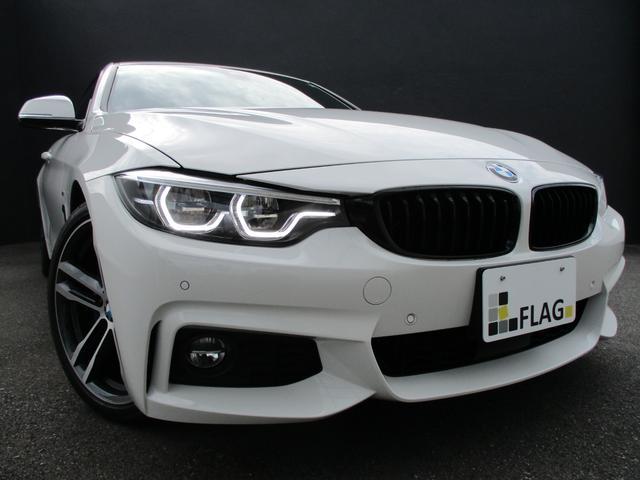 BMW 420iグランクーペ Mスポーツ ワンオーナー ファストトラックP 19インチMライトアロイホイール アダプティブMサスペンション Mスポーツブレーキ Mパフォーマンスカーボンリアスポイラー 5年サービスPKG 禁煙車