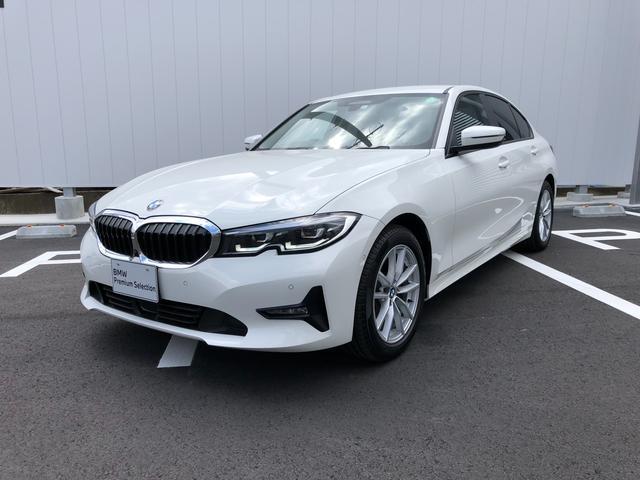 BMW 318i 当社試乗車・パーキングアシスト+・プラスパッケ-ジ・全周囲カメラ・純正17インチアルミ・パワーシート・アクティブクルーズコントロール・ミラーETC