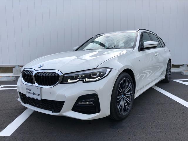 BMW 318iツーリング Mスポーツ 当社試乗車・パーキングアシスト+・コンフォートパッケージ・純正18インチアルミ・電動リヤゲート・全周囲カメラ・アクティブクルーズコントロール・パワーシート・ミラーETC