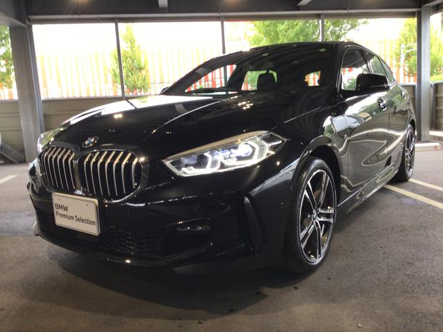 BMW 118i Mスポーツ 当社試乗車・ナビパッケージ・コンフォートパッケージ・純正18インチアルミ・運転席パワーシート・アクティブクルーズコントロール・バックカメラ・ミラーETC・LEDヘッドライト・LEDフォグランプ