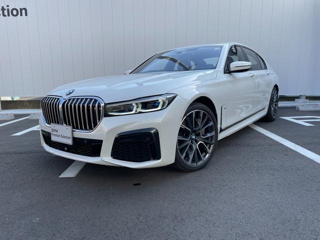 BMW 750i xDrive Mスポーツ 当社下取ワンオーナー・黒革シート・シートエアコン・シートヒーター・サンルーフ・ハーマンカードン・TV・ヘッドUPディスプレイ・全周囲カメラ・アクティブクルーズコントロール・CD・電動トランク