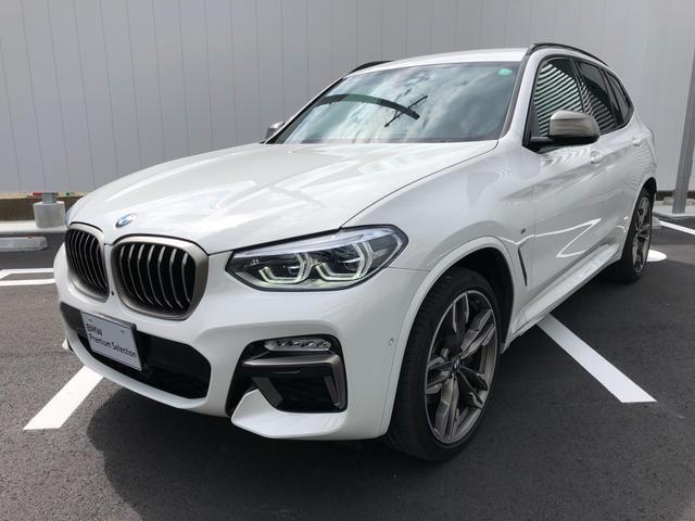 BMW X3 M40d ディーゼルターボ・純正21インチアルミ・ワンオーナー・電動リヤゲート・バックカメラ・ミラーETC・AAC・ワンオーナー