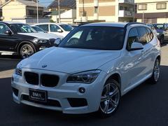 BMW X1sDrive 20i Mスポーツ BKレザー 純正ナビ