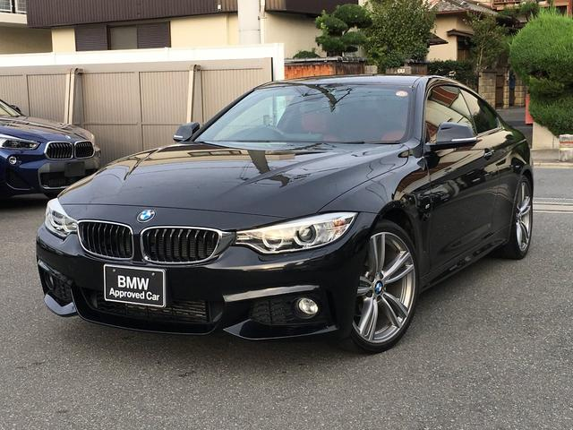BMW 420iクーペ Mスポーツ 赤レザー 19AW Dアシスト