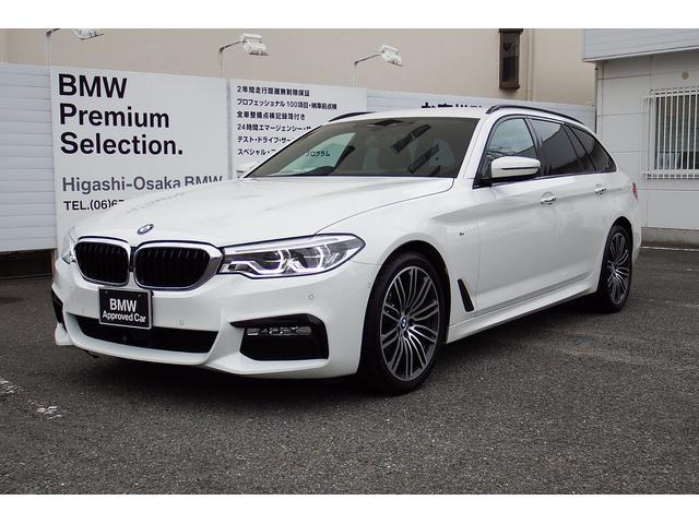 BMW 5シリーズ 523iツーリングMスポーツ弊社下取車1オナ...