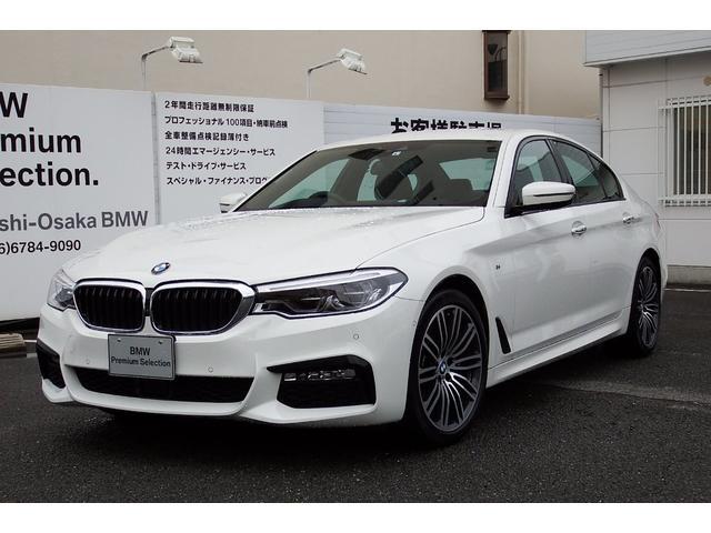 BMW 530i Mスポーツ 試乗車 ACC ヘッドUP 黒革