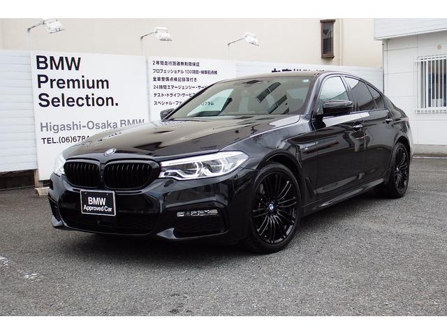 BMW 5シリーズ 530i Mスポーツ MISSION:IMPOSSIBLE限定車 19インチブラックアルミホイール レザーシート harman/kardonスピーカー M-sportキャリパー ヘッドアップディスプレイ